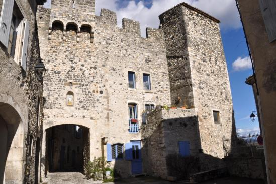 Rochemaure (la porte des Tournelles)