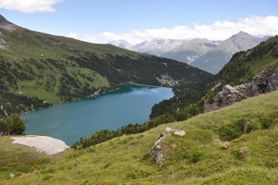 Le lac du Plan d'Amont