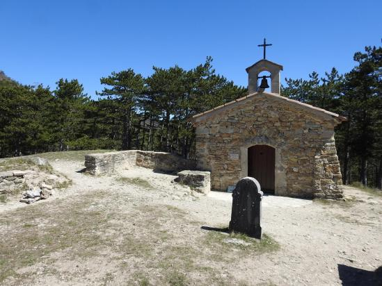La chapelle Saint-Christophe de Véronne