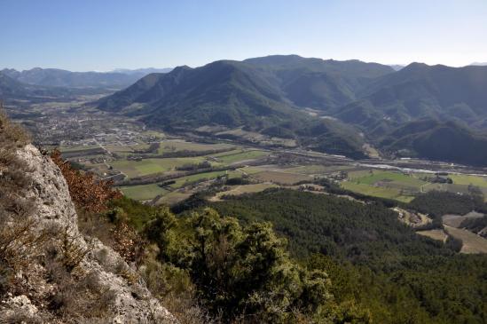 Sur les crêtes de la montagne de Desse (Die et la montagne de Beaufayn)