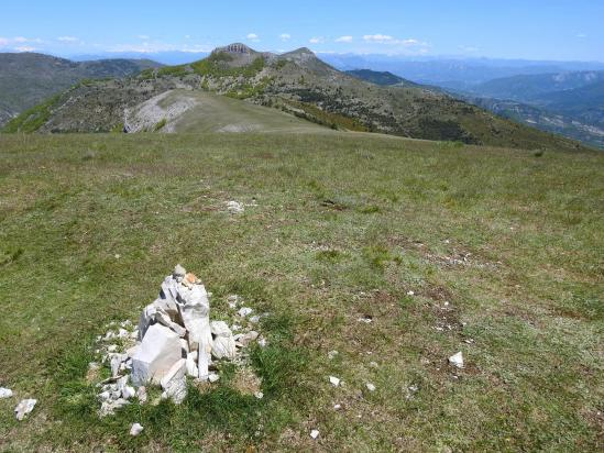 Sur le plateau sommital de la montagne du Pied du Mulet