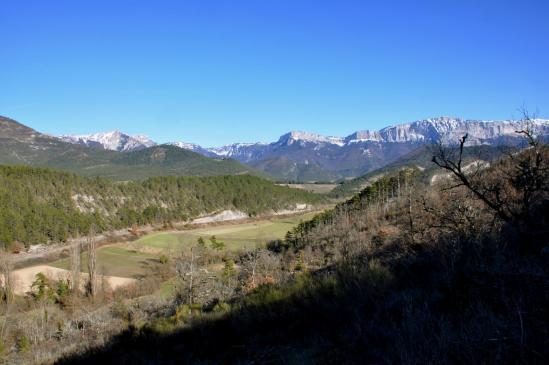 Descente de la montagne de Desse (But Sapiau, Econdus, Rochers Plautret et Glandasse)