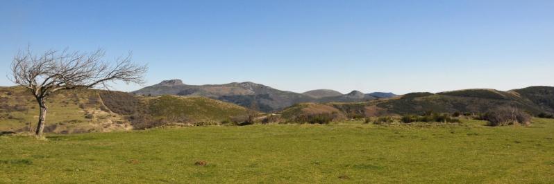 Panorama depuis la ferme de Chantemerle (Roc de Gourdon)