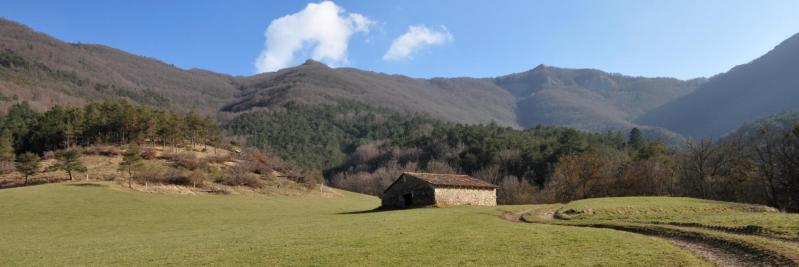 A l'approche des Arbods lors de la descente des Teulières (Grange Neuve)