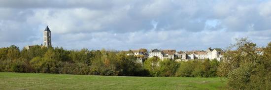 A l'approche de Château-Landon après avoir quitté la voie romaine