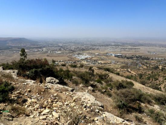 Au-dessus de Mekele