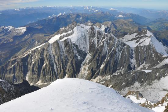 Au sommet du Mont-Blanc