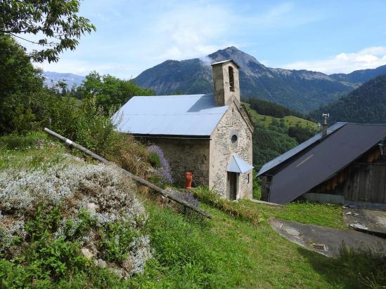 La chapelle du hameau du Guillard