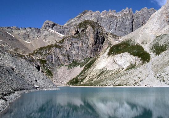Le lac des Béraudes