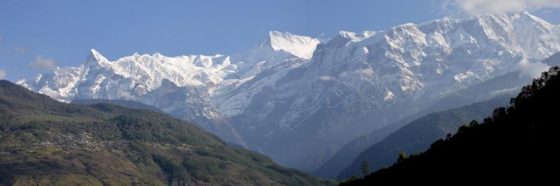 Annapurna et Lamjung depuis Tanting