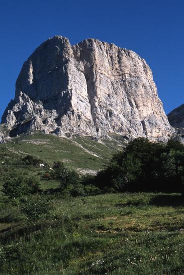 Au pied d'Agathe en quittant le refuge du col de l'Arzelier