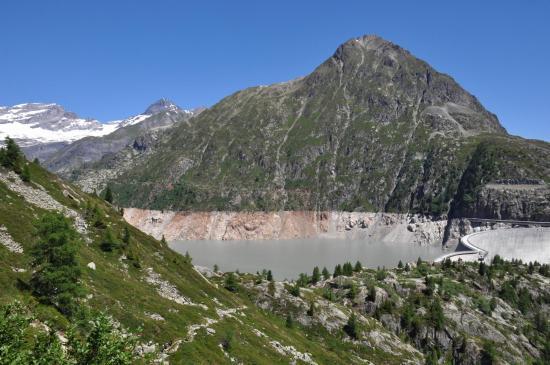 Au col du passet (lac d'Emosson)