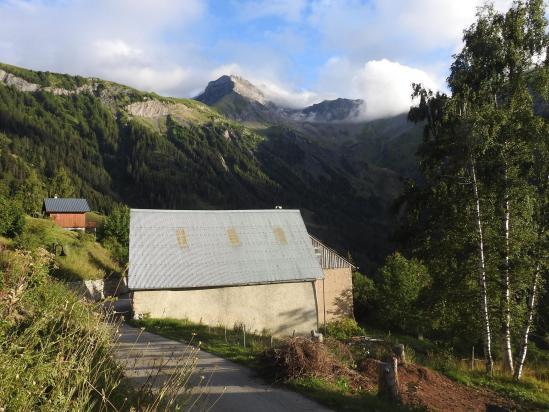 Le Grand Renaud vu depuis le village de Villard-Reymond