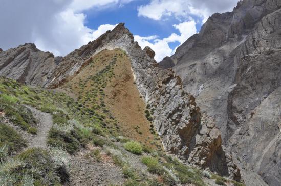 Vallée de la Niri Chu (passage du collet à 4430m)