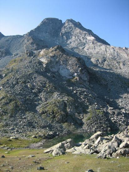 Ascension de Granero au col Manzol