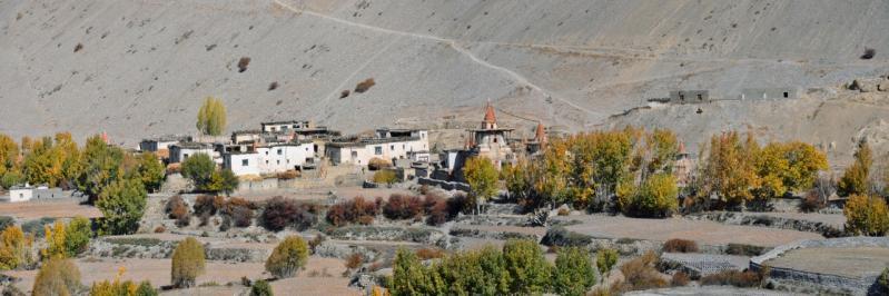 Le village de Tangye