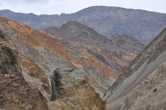 Délire géologique lors de la descente sur Khalsi