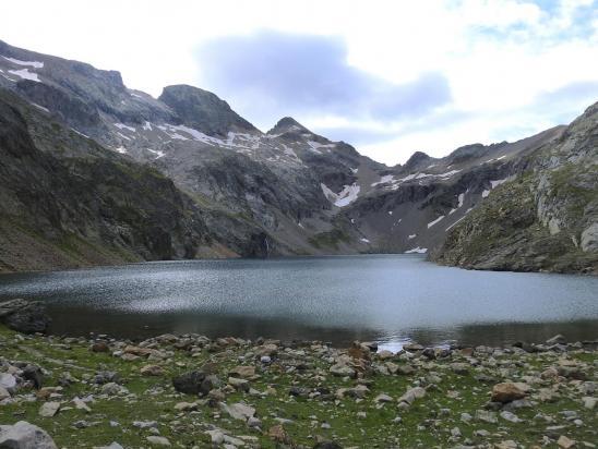 Le lac du Vallon