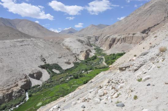 La vallée de la Kyema Chu