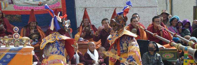 Festival Tiji à Lo Monthang (Mustang - Népal)