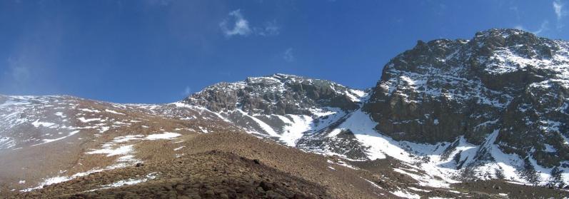 Les falaises du Bou Iguenouane