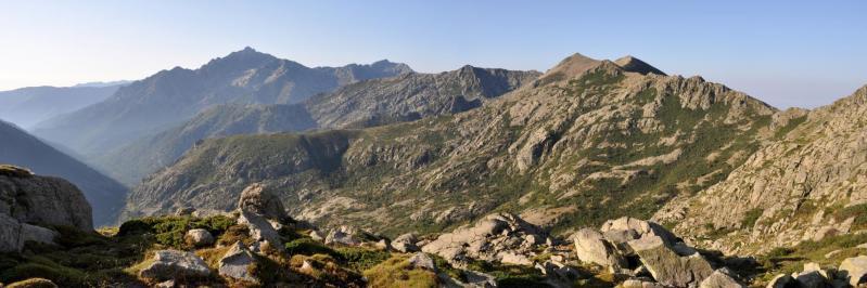 La vallée du Manganello vue depuis Petra Piana