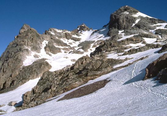 Lors de la montée au sommet du Grand Galibier