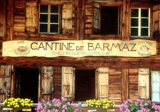 La sympathique et authentique cantine de Barme