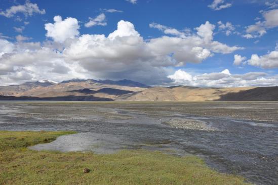 Le lac du Tsomoriri depuis Narchu sumdo