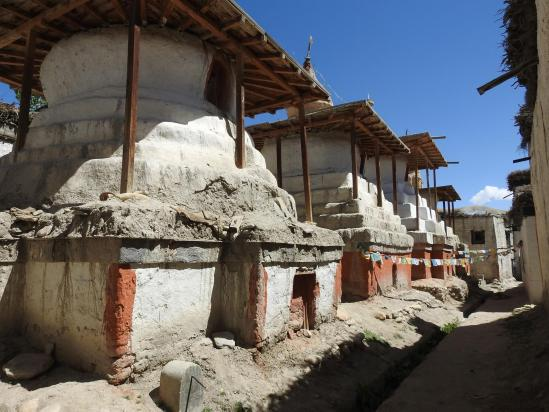 Lo Manthang (place aux 8 chörtens)