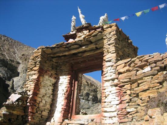 La porte de Phu