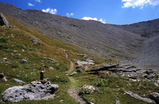 A l'approche du col de Bramanette