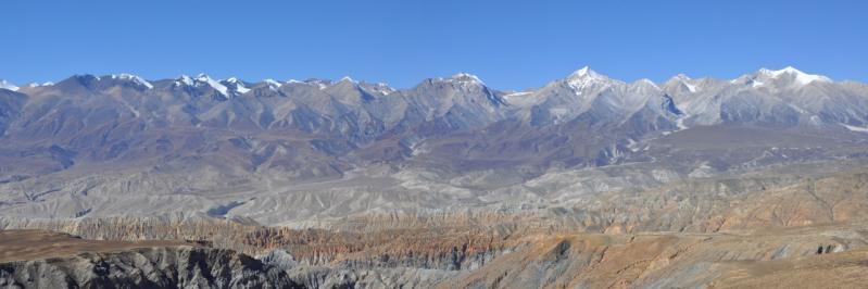 Belvédère depuis le plateau de Thakla