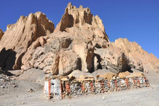 Les falaises de Samdzong