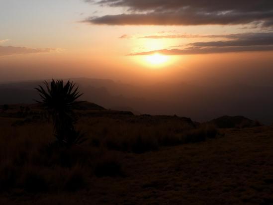 Coucher de soleil à Kadadit