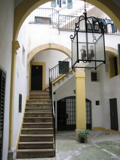 Une jolie cour intérieure à Palma