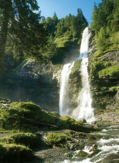 La cascade du Rouget (Sixt-Salvagny)