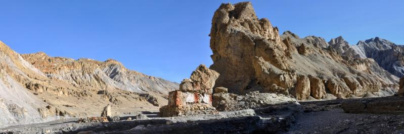 L'entrée de la gorge de la Samdzong khola