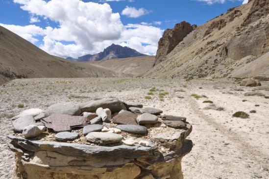 La vallée de la Zara Chu après Zabuk Yogma