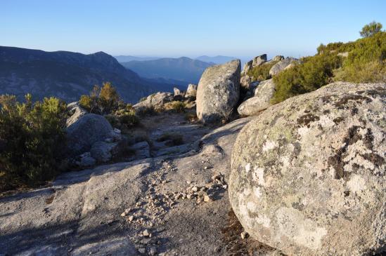 Sur les crêtes entre Marignana et Piana