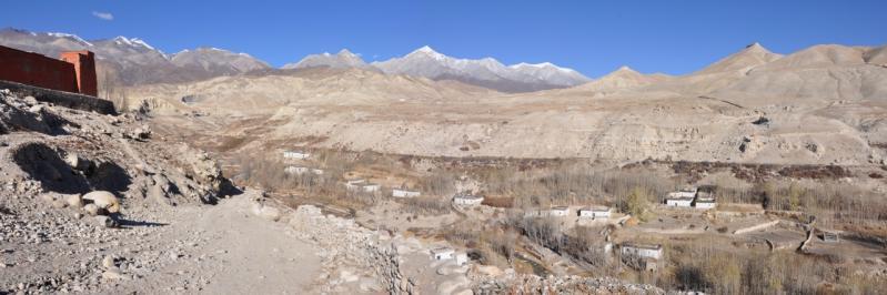 Le plateau de Lo Monthang