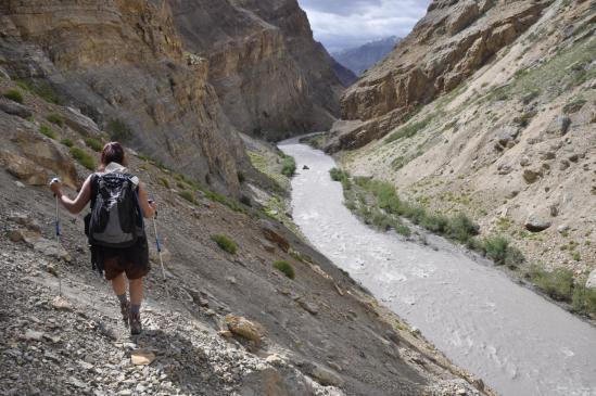 Vallée de l'Oma Chu : retour à la rivière...