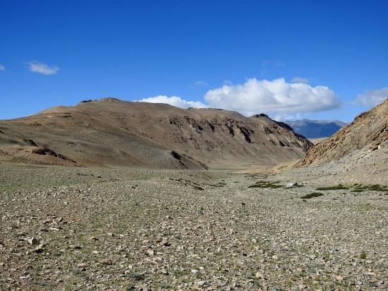 A l'entrée de la vallée des kiangs