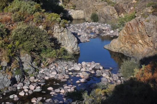 Les vasques du Fangu à Tuarelli
