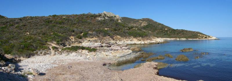 Les côtes déchiquetées de l'Agriate