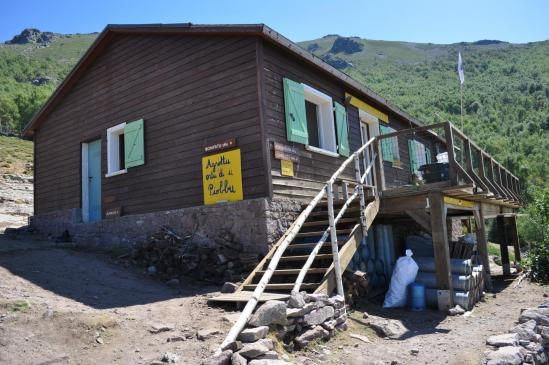 Le refuge d'Ortu di u Piobbu
