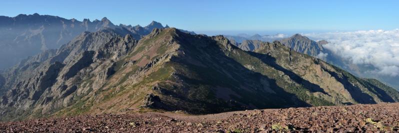 Au sommet du Monte Corona