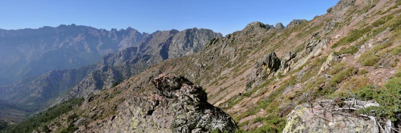 Dans la traversée hors des sentiers battus entre le Monte Corona et la bocca di l'Ondella