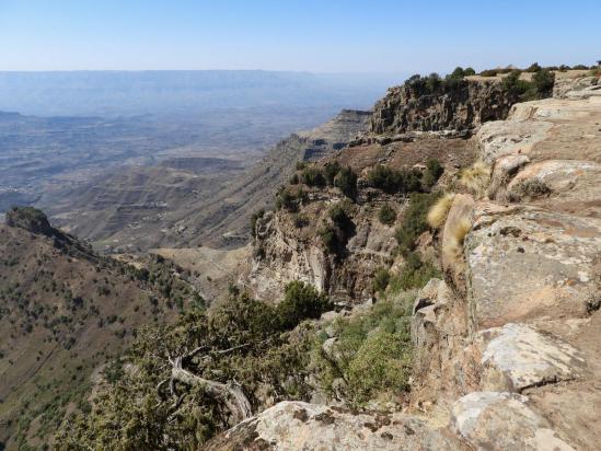 La falaise de Ber Metebekiye