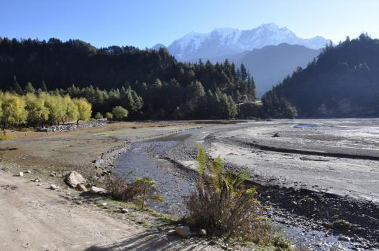 La Kali Gandaki du côté de Ghasa